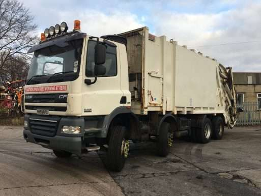 2008 DAF CF85.360 8x4 REL for sale. Heil Body 2