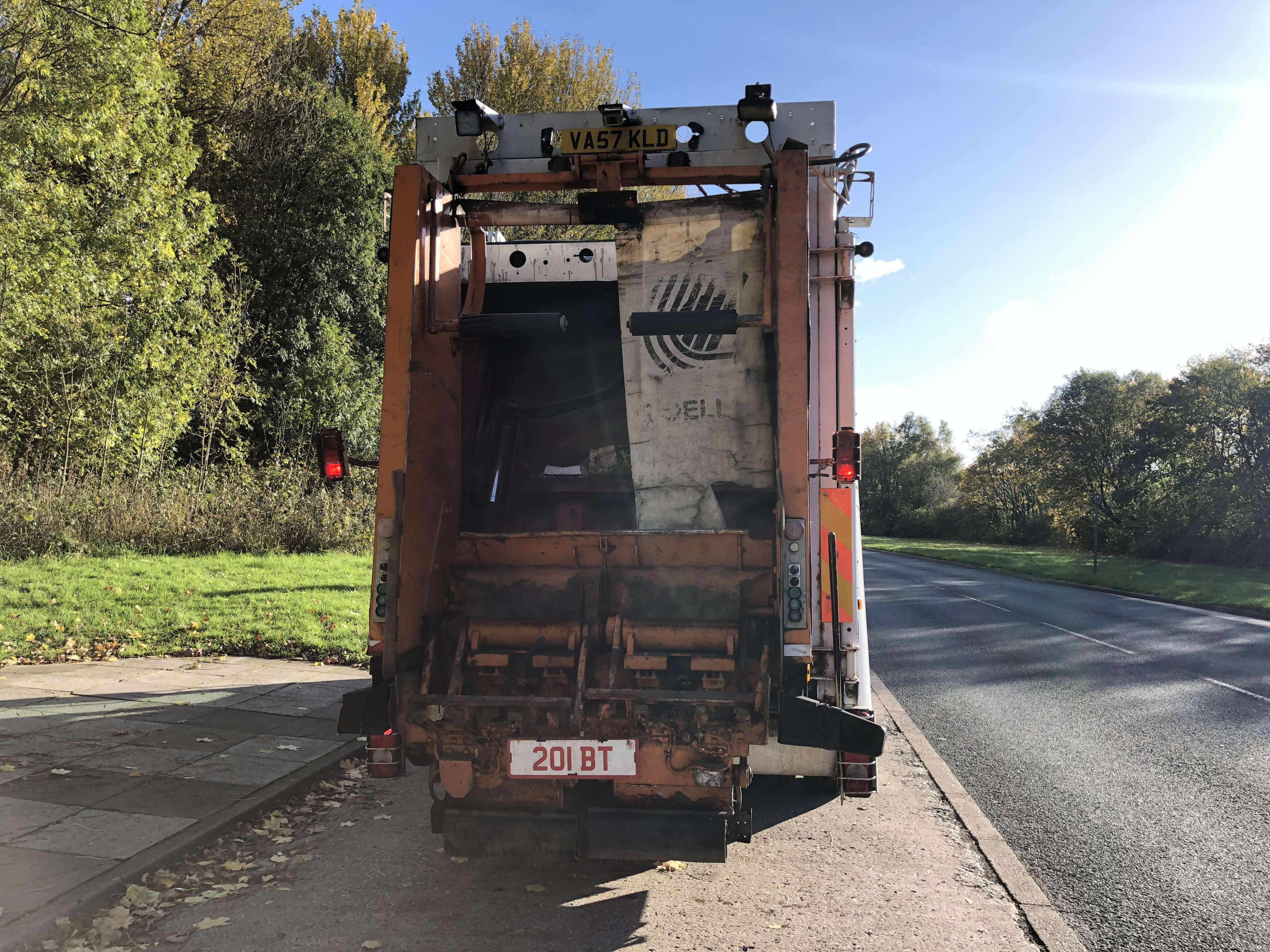 2008 Dennis 4x2 narrow track refuse collection truck for sale