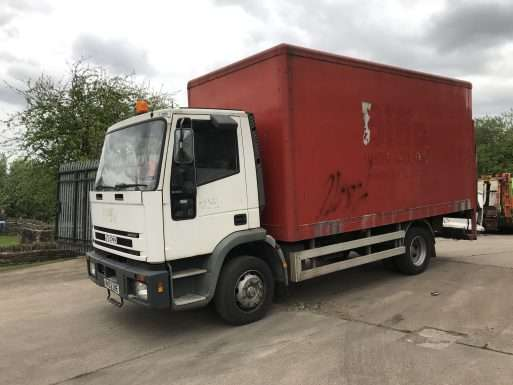 2002 Iveco box truck for sale
