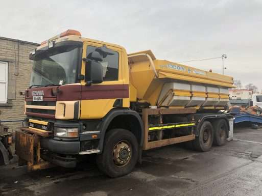 2003 Scania 6x6 Gritter