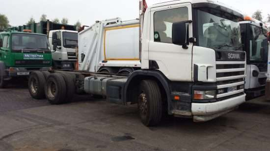2004 Scania 94C 260 6x4 chassis cab for sale