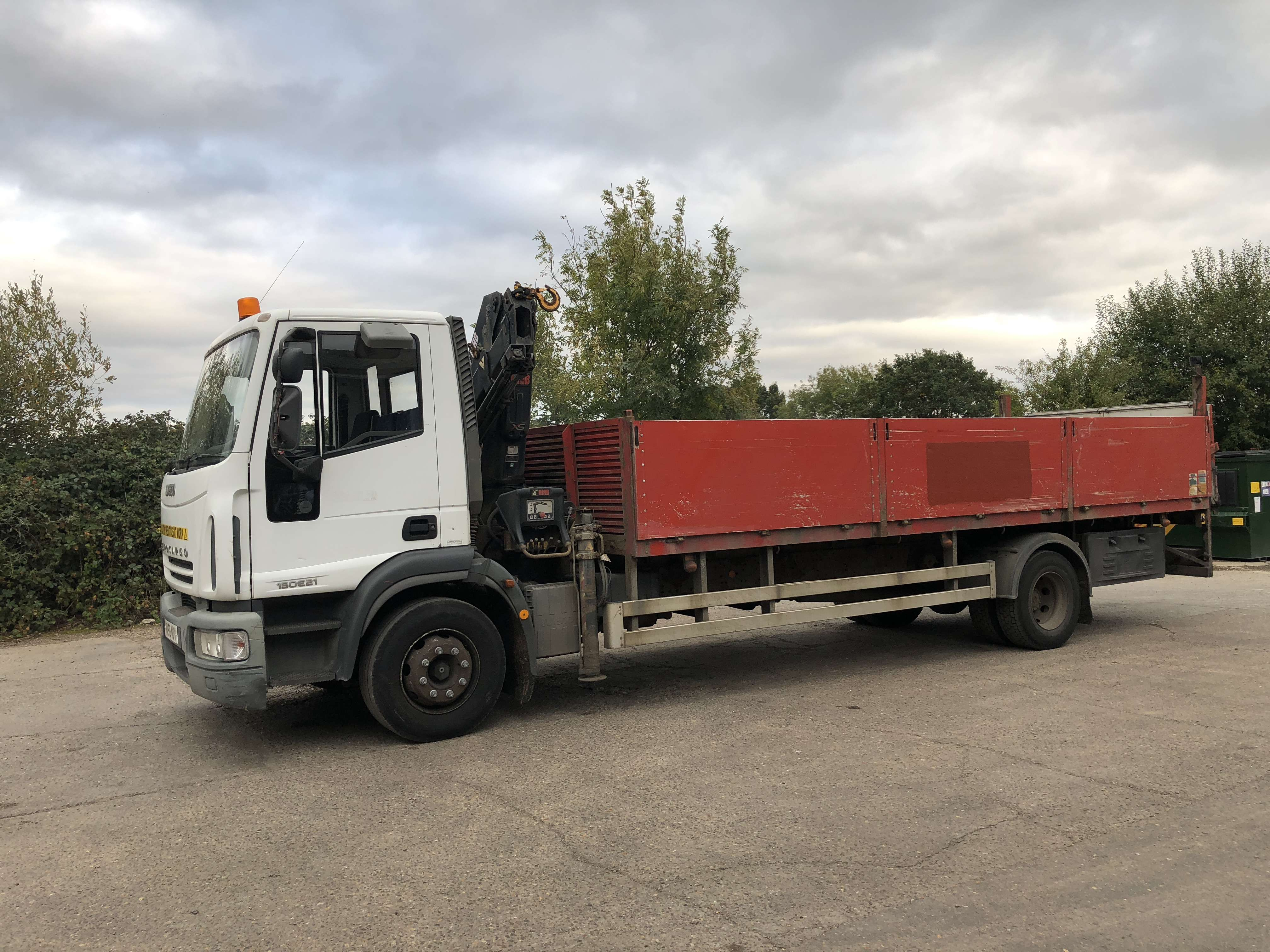 2005 Iveco dropside truck for sale