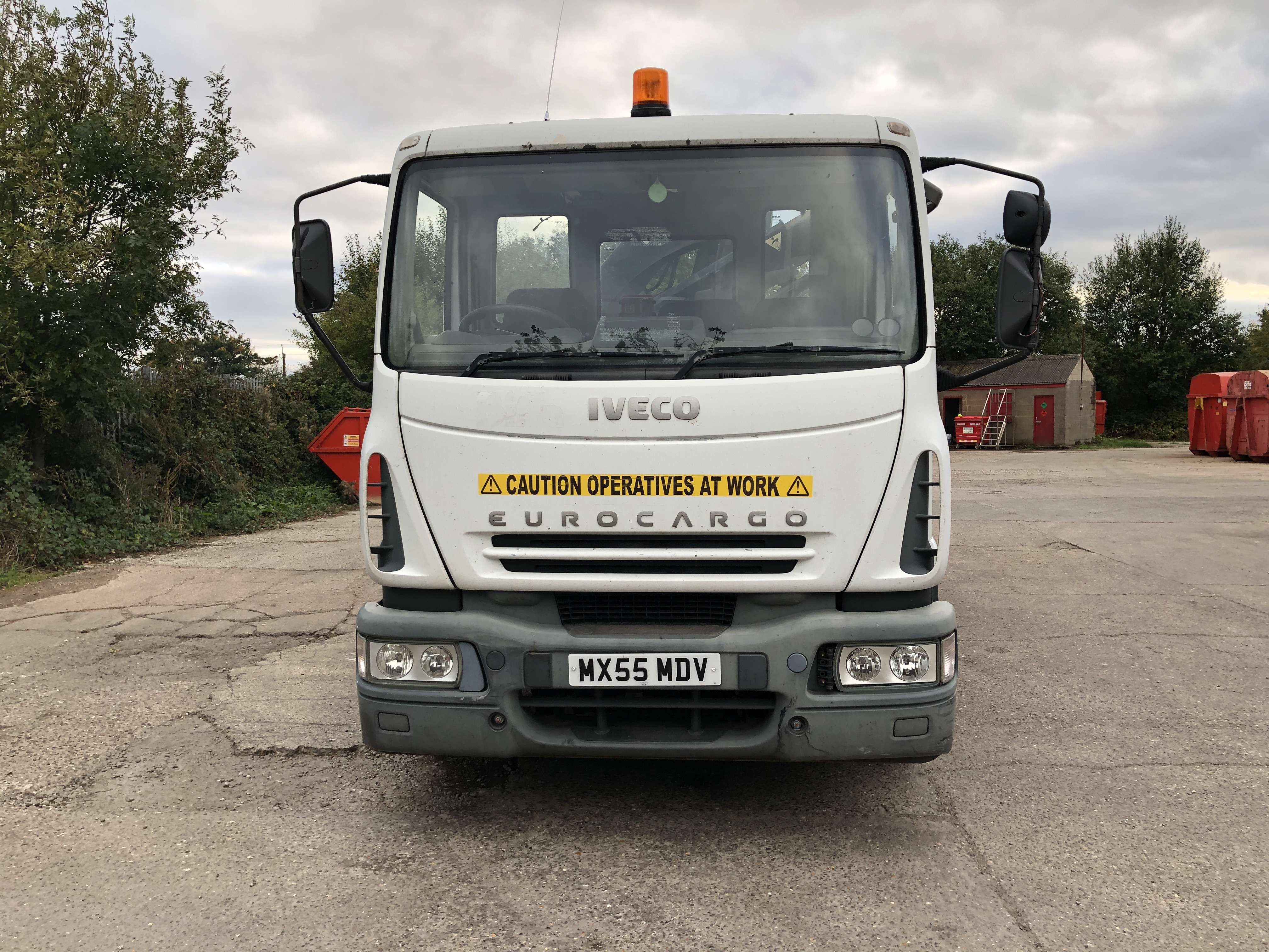 2005 Iveco dropside truck for sale 2