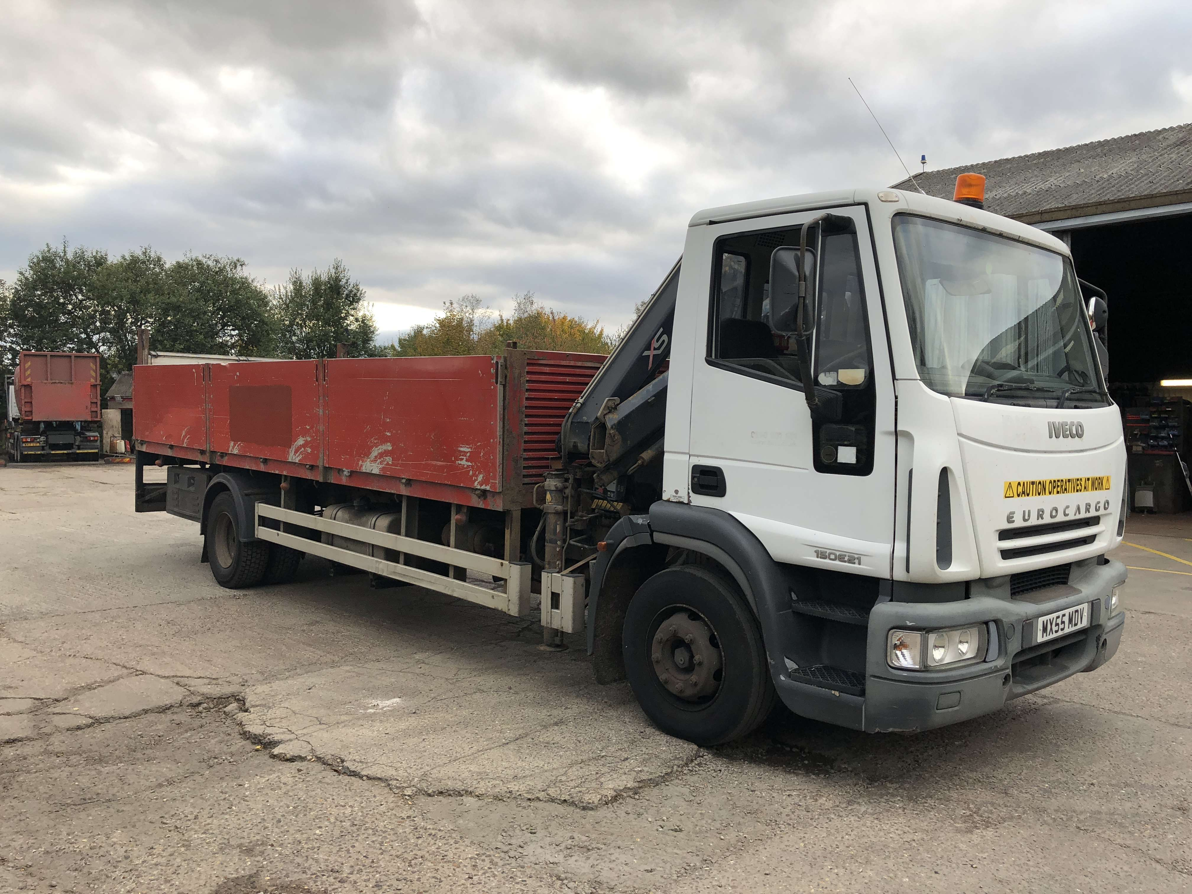 2005 Iveco dropside truck for sale 3