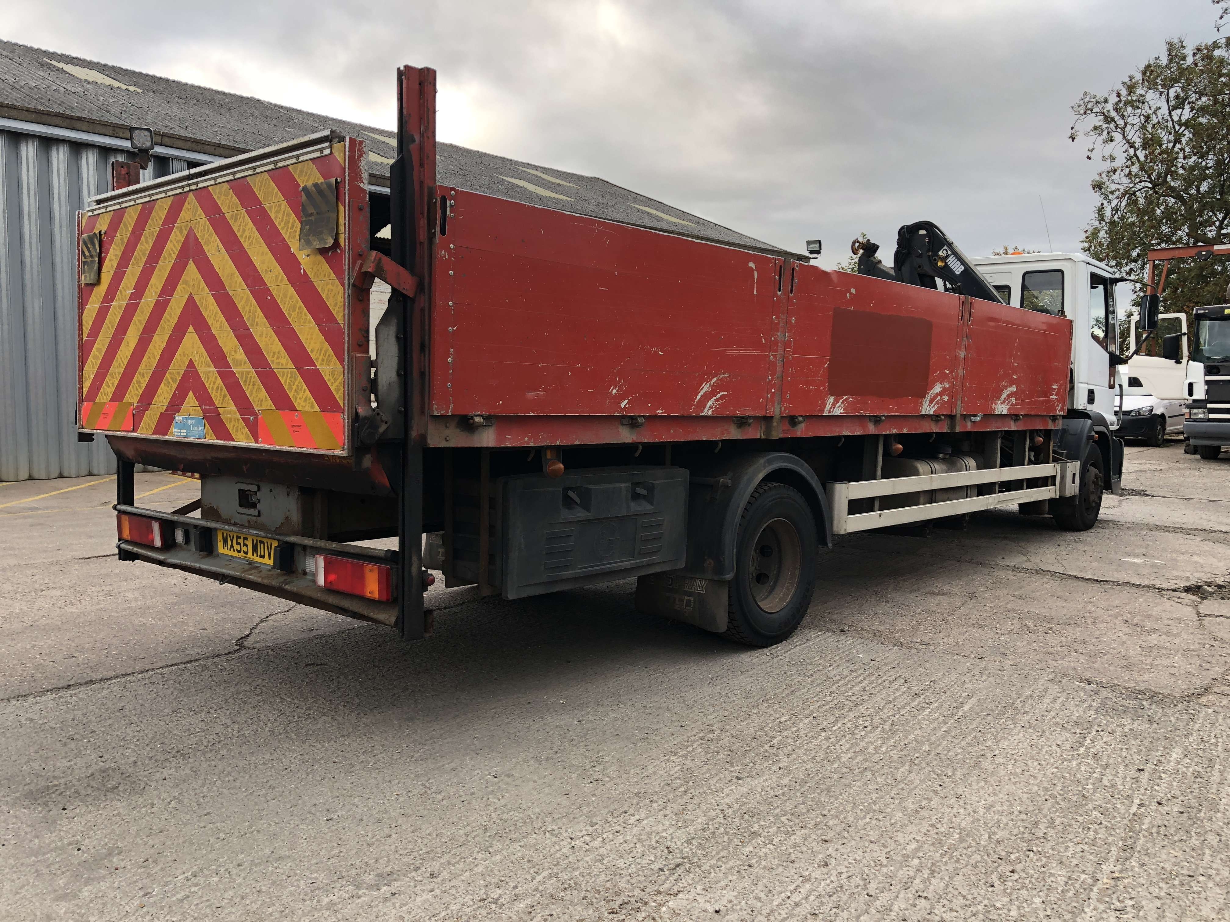 2005 Iveco dropside truck for sale 4