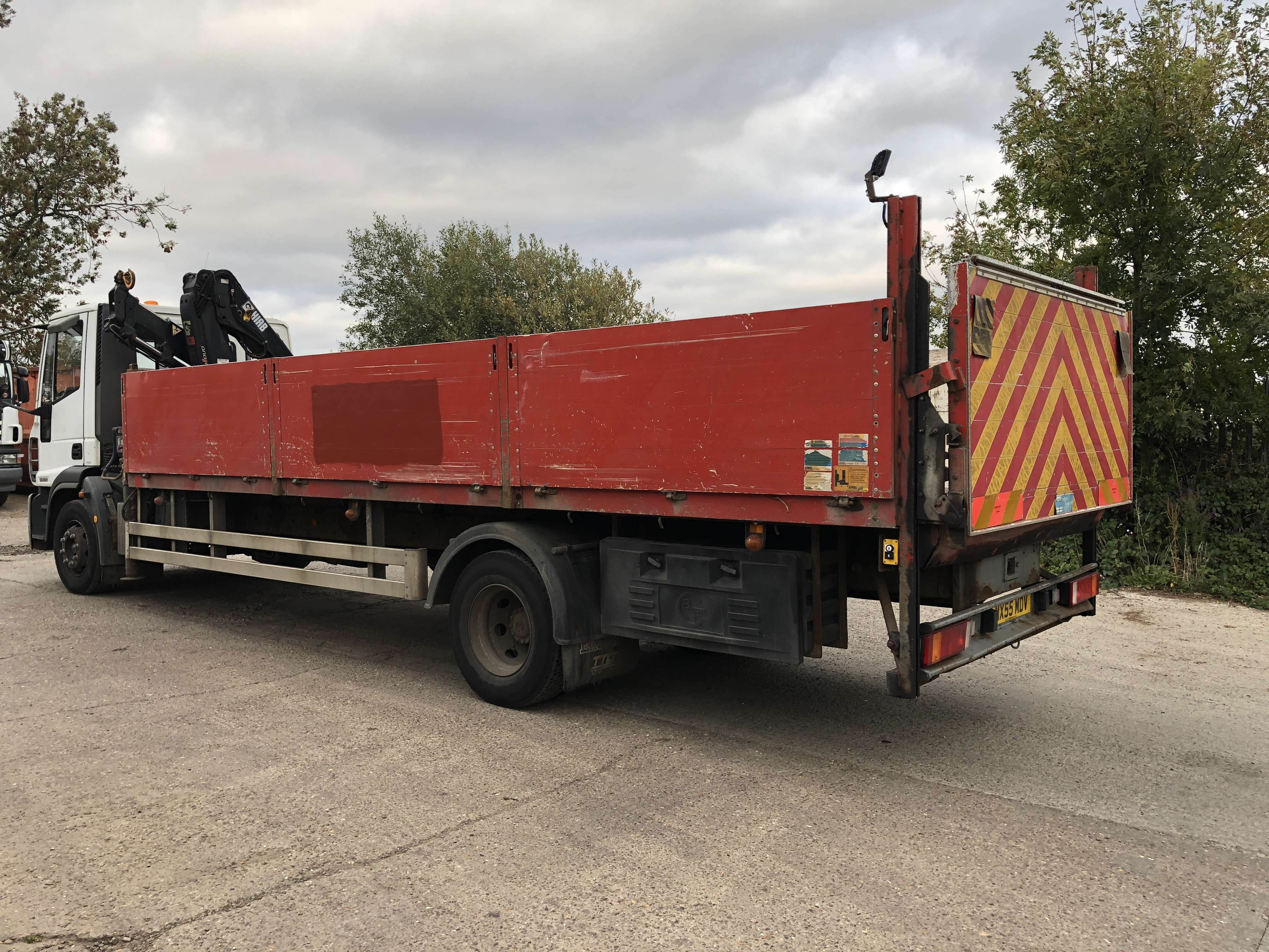 2005 Iveco dropside truck for sale 6
