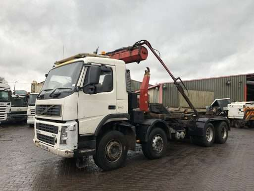 2005 Volvo FM12 340 8x4 Hook lorry for sale 3
