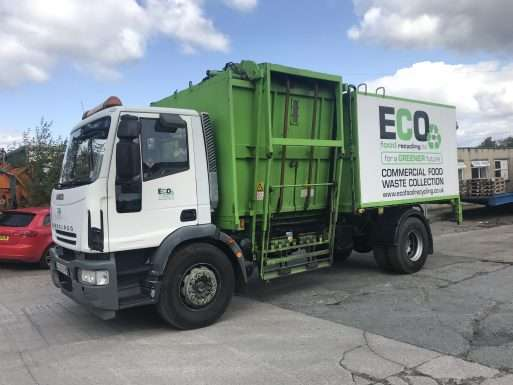 2007 Iveco 180E25 Toploader recycling truck for sale 4