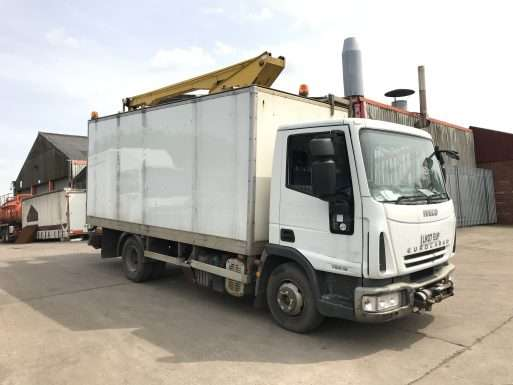 2007 Iveco cherry picker for sale
