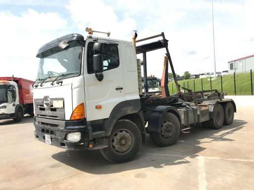 2008 Hino FY 8x4 Hookloader For Sale - Hyvalift Equipment 6