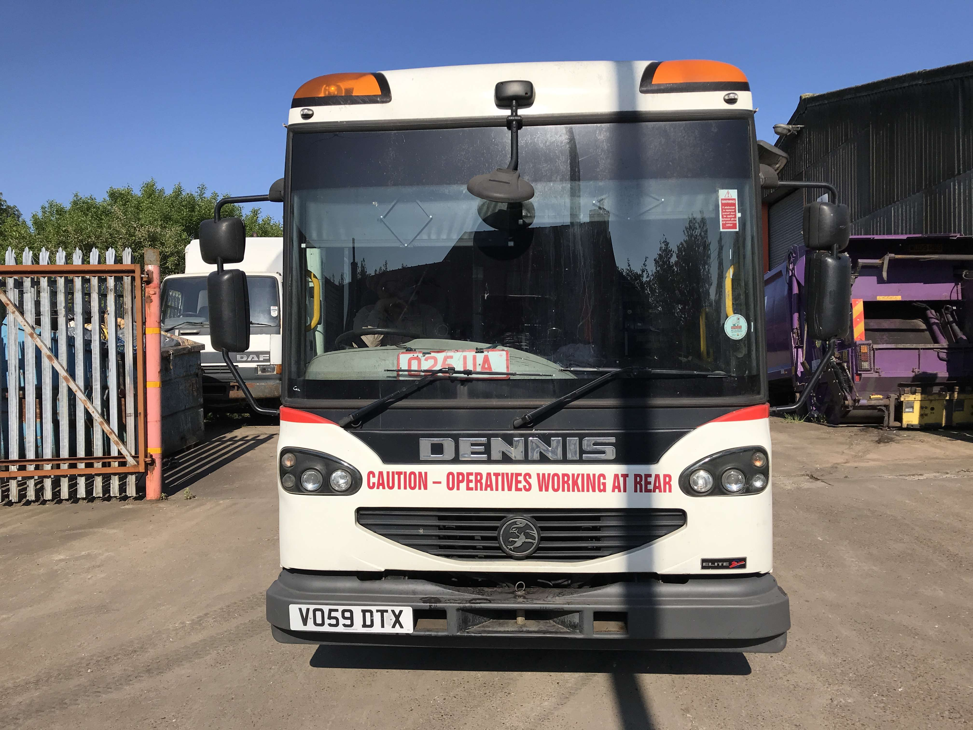 2009 Dennis Eagle 70:30 Twinpack for sale, Open back 2