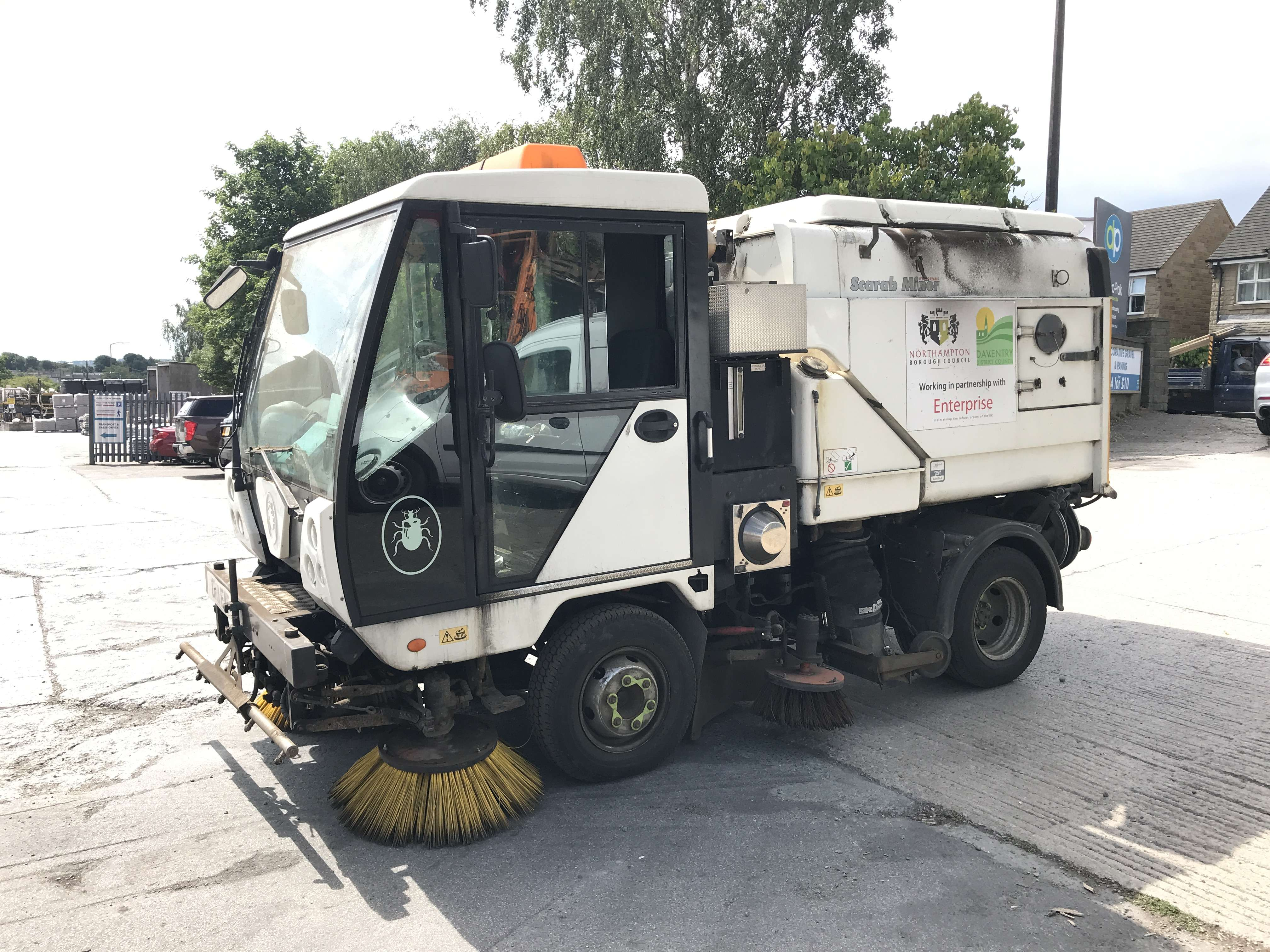2011 Scarab Minor sweeper for sale 2