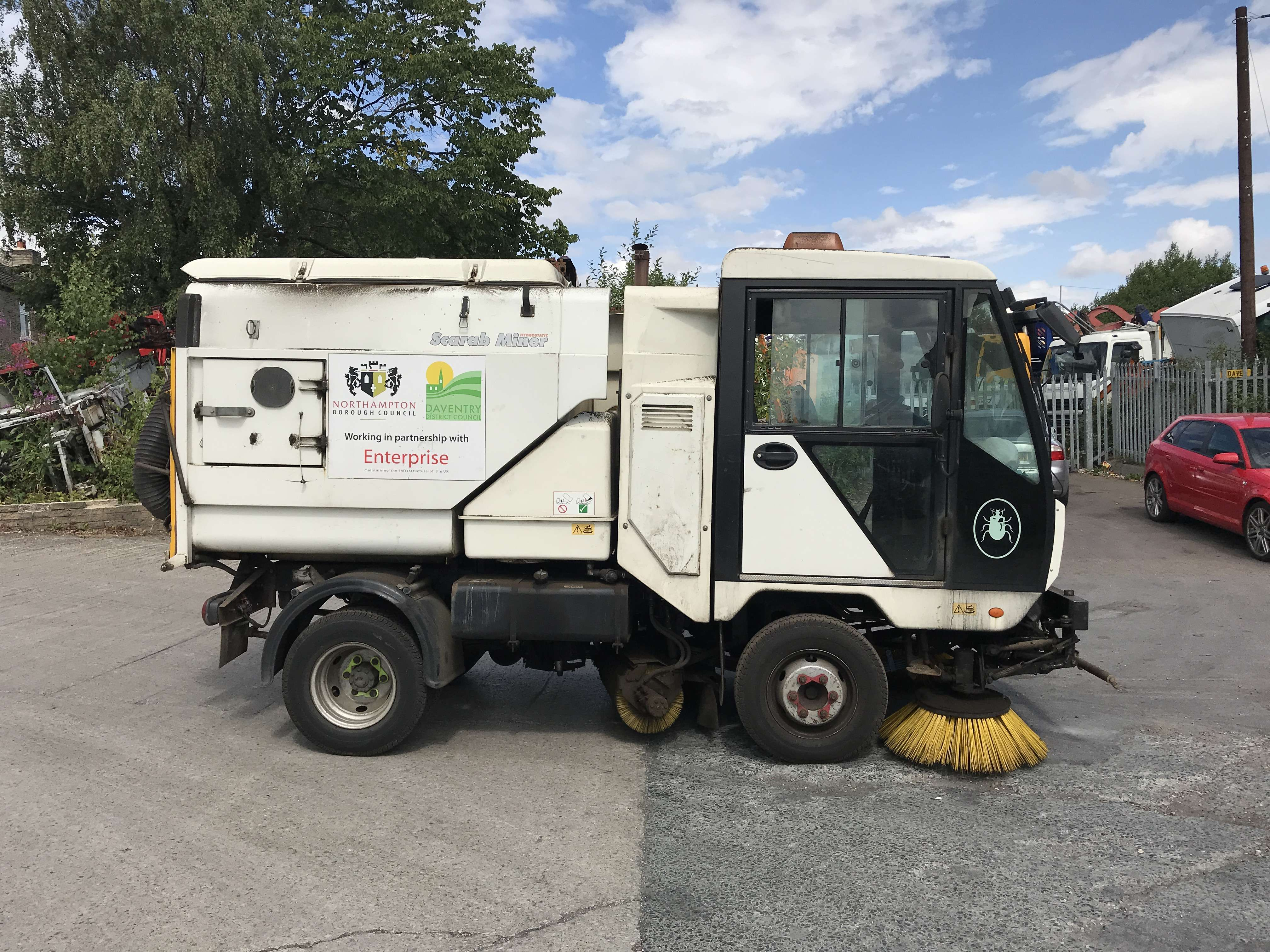 2011 Scarab Minor sweeper for sale 3