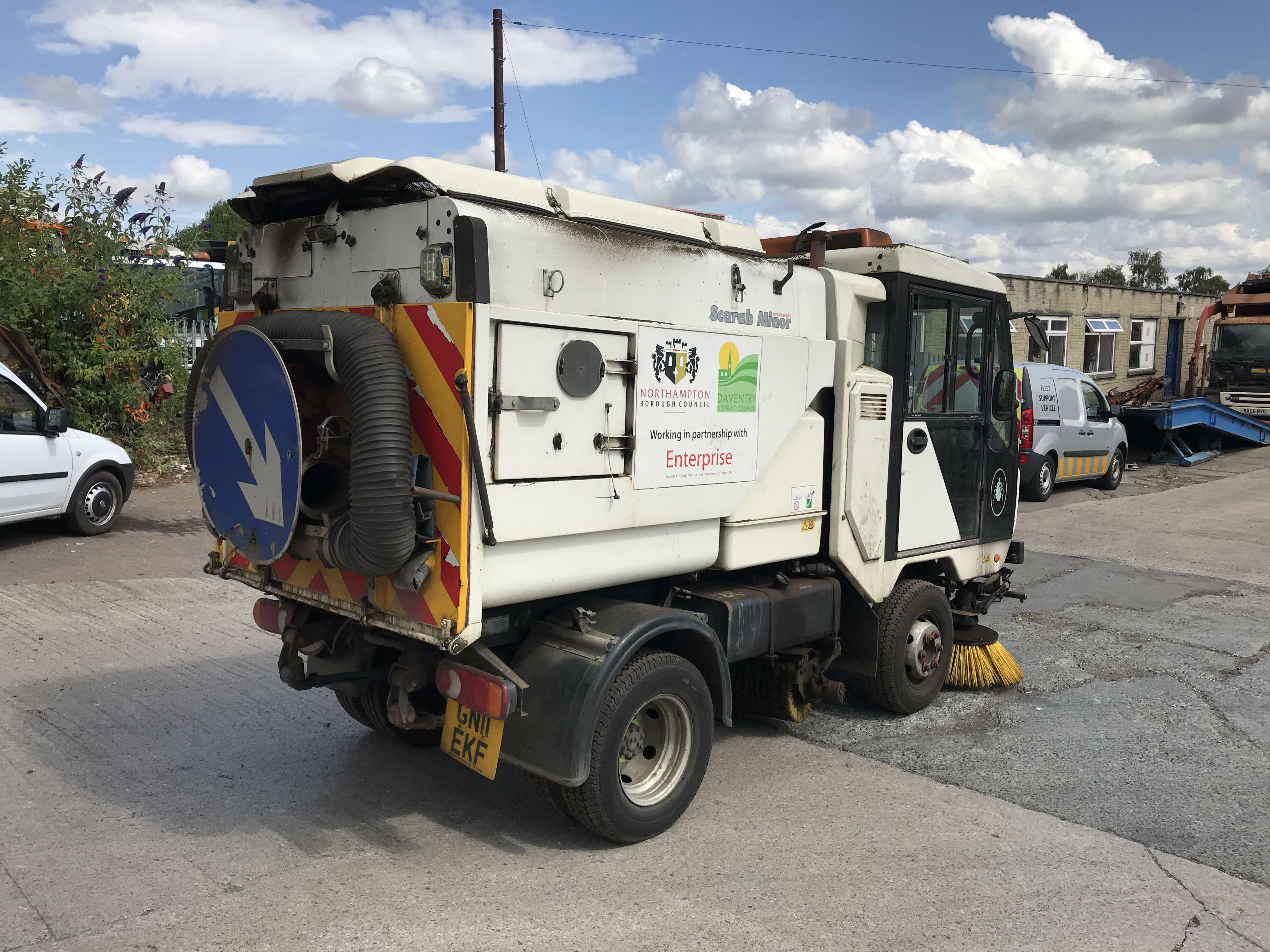 2011 Scarab Minor sweeper for sale 4