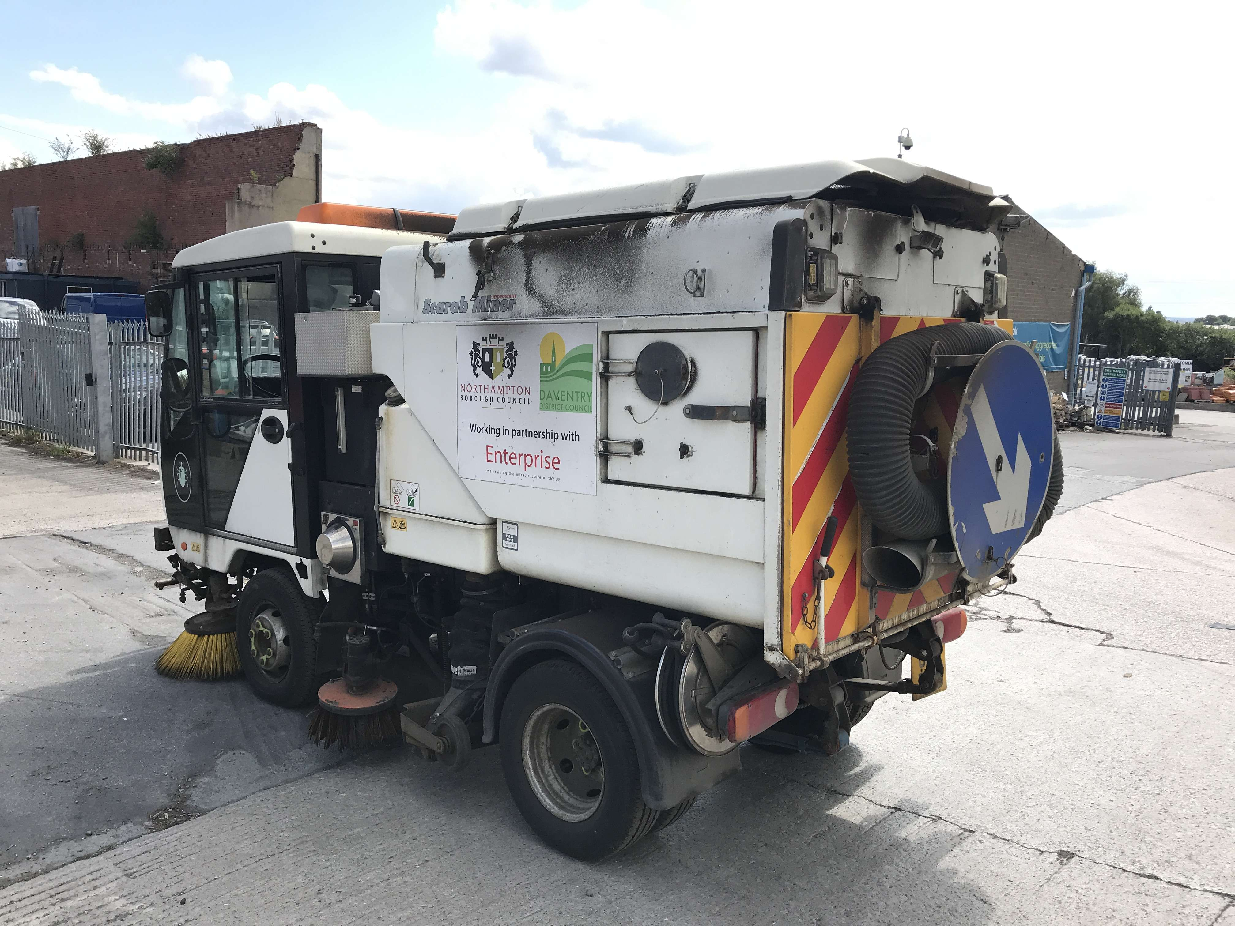 2011 Scarab Minor sweeper for sale 6