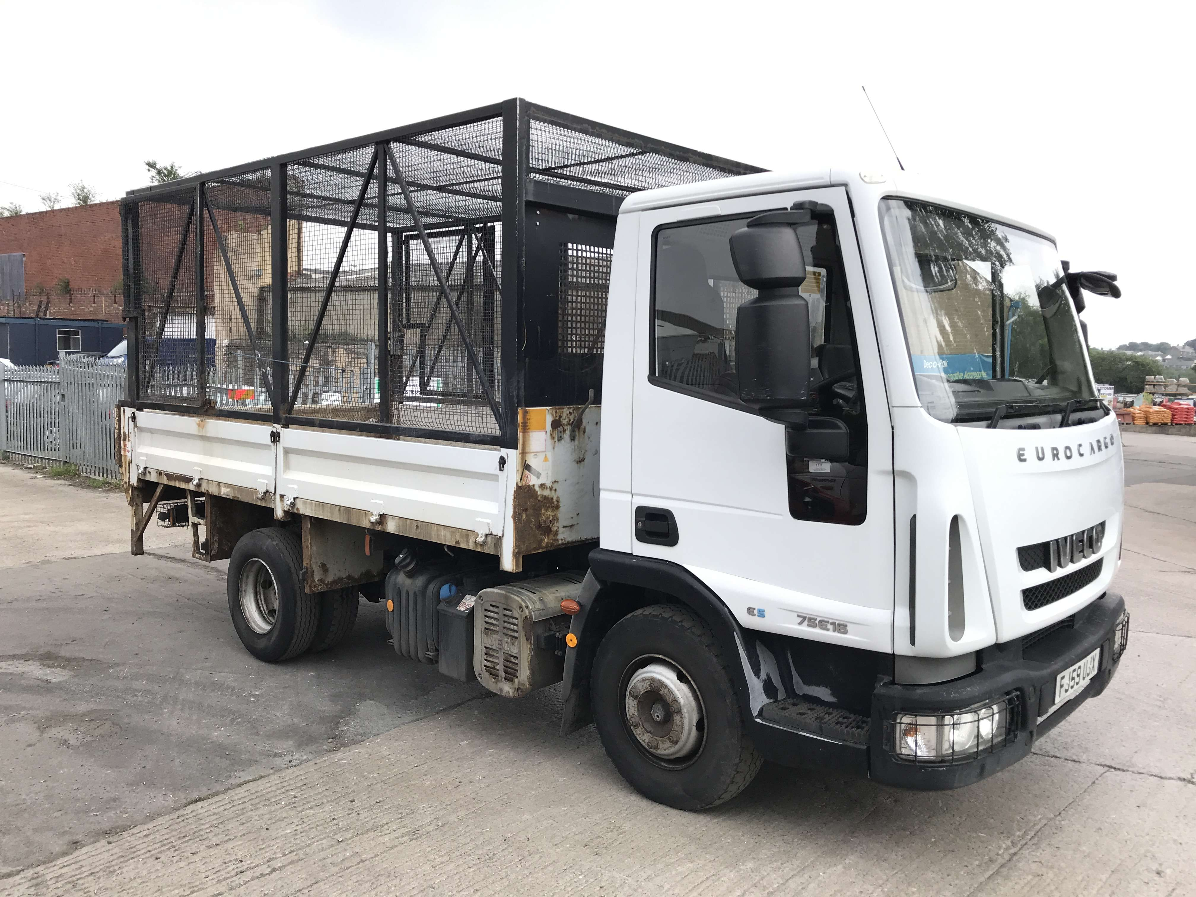 2010 Iveco 4x2 caged tipper for sale