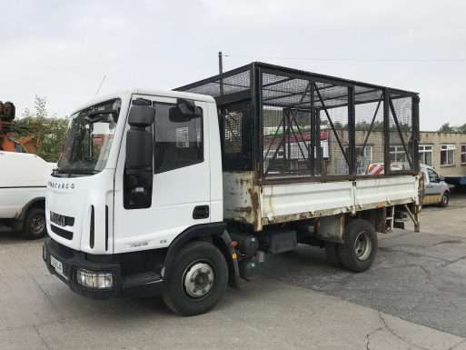 2010 Iveco 4x2 caged tipper for sale 3