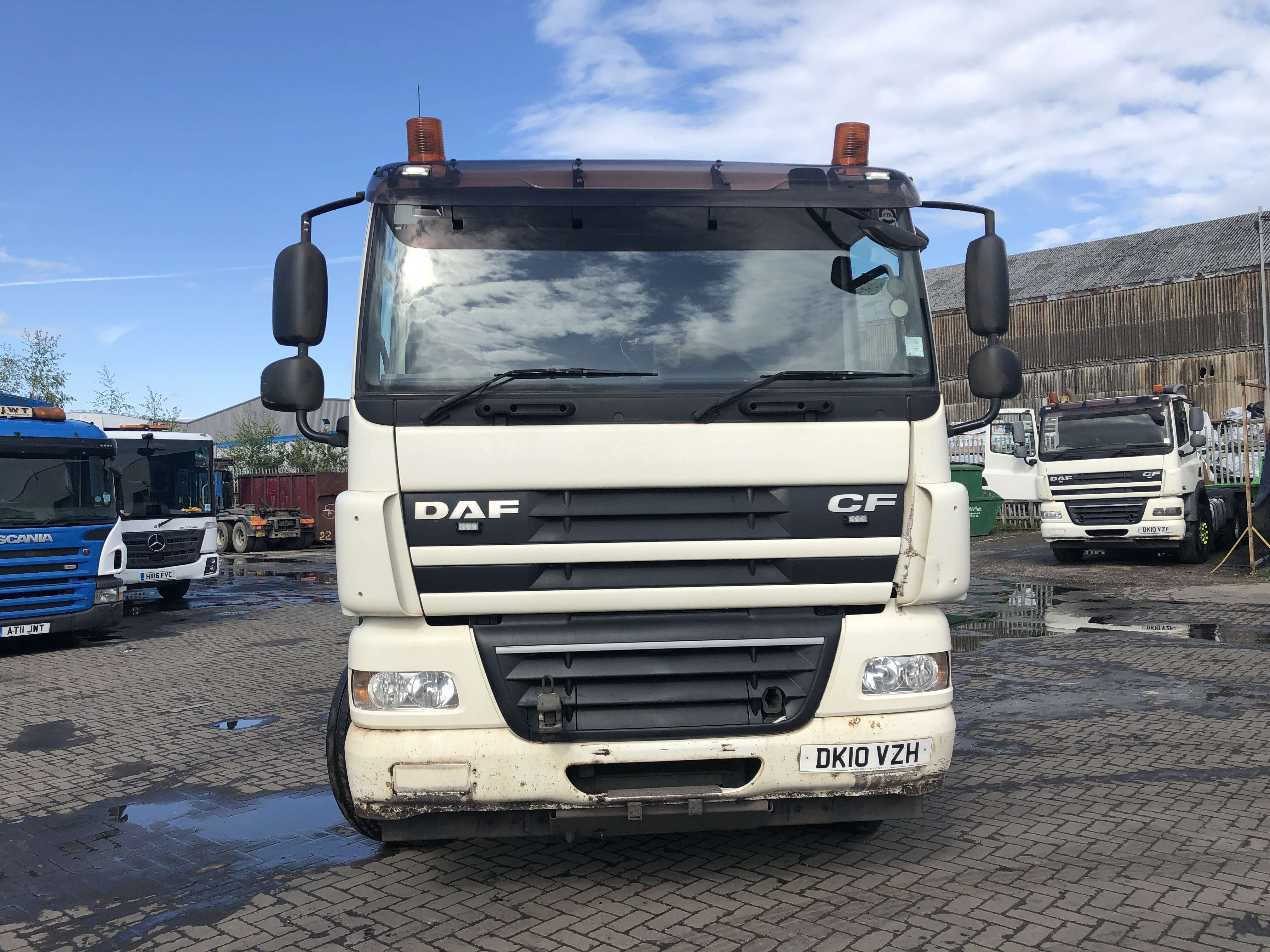 2010 DAF CF 85.410 6x4 double drive tractor unit for sale 5