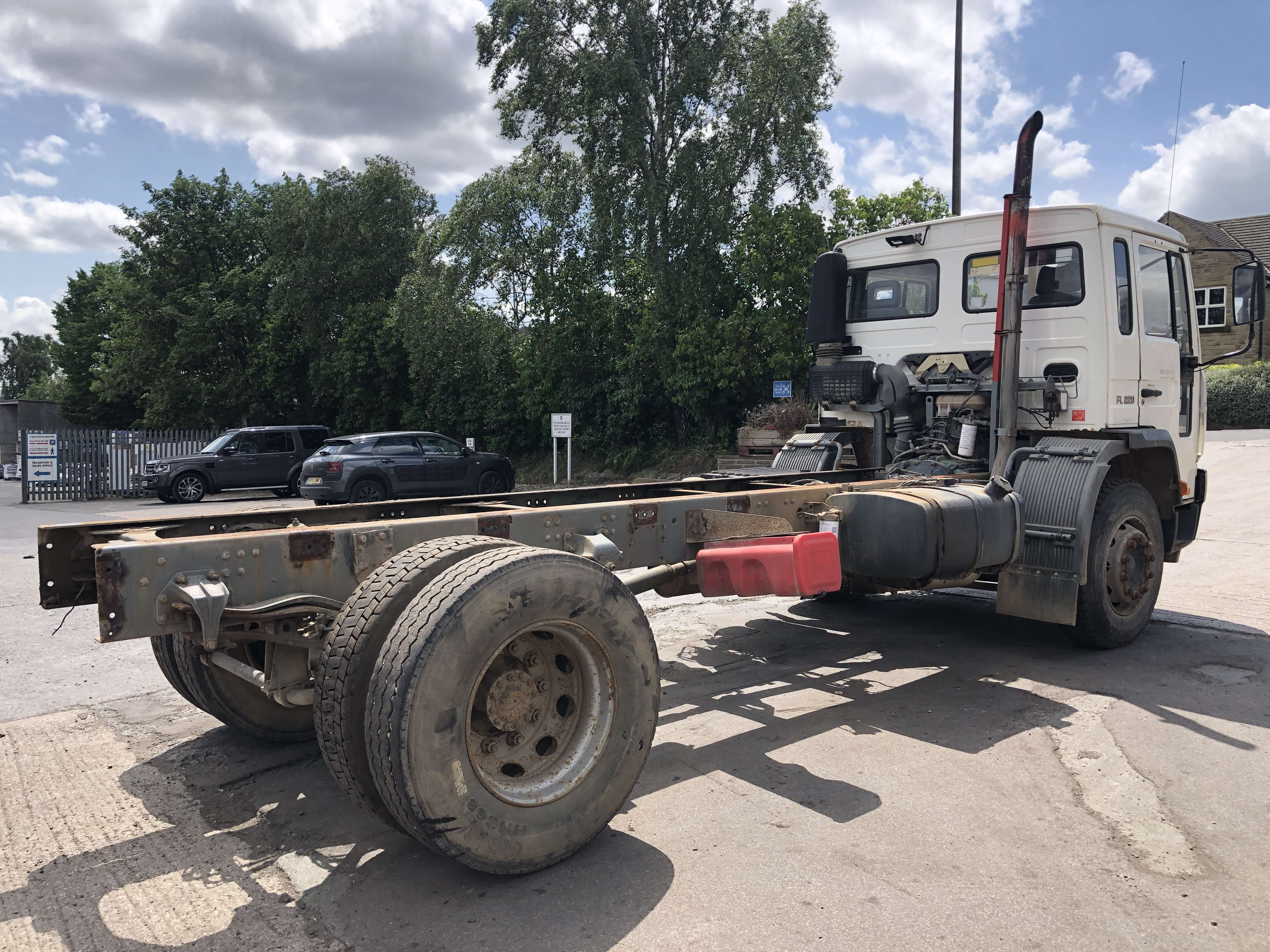 Volvo FL 220 cab chassis truck for sale 4