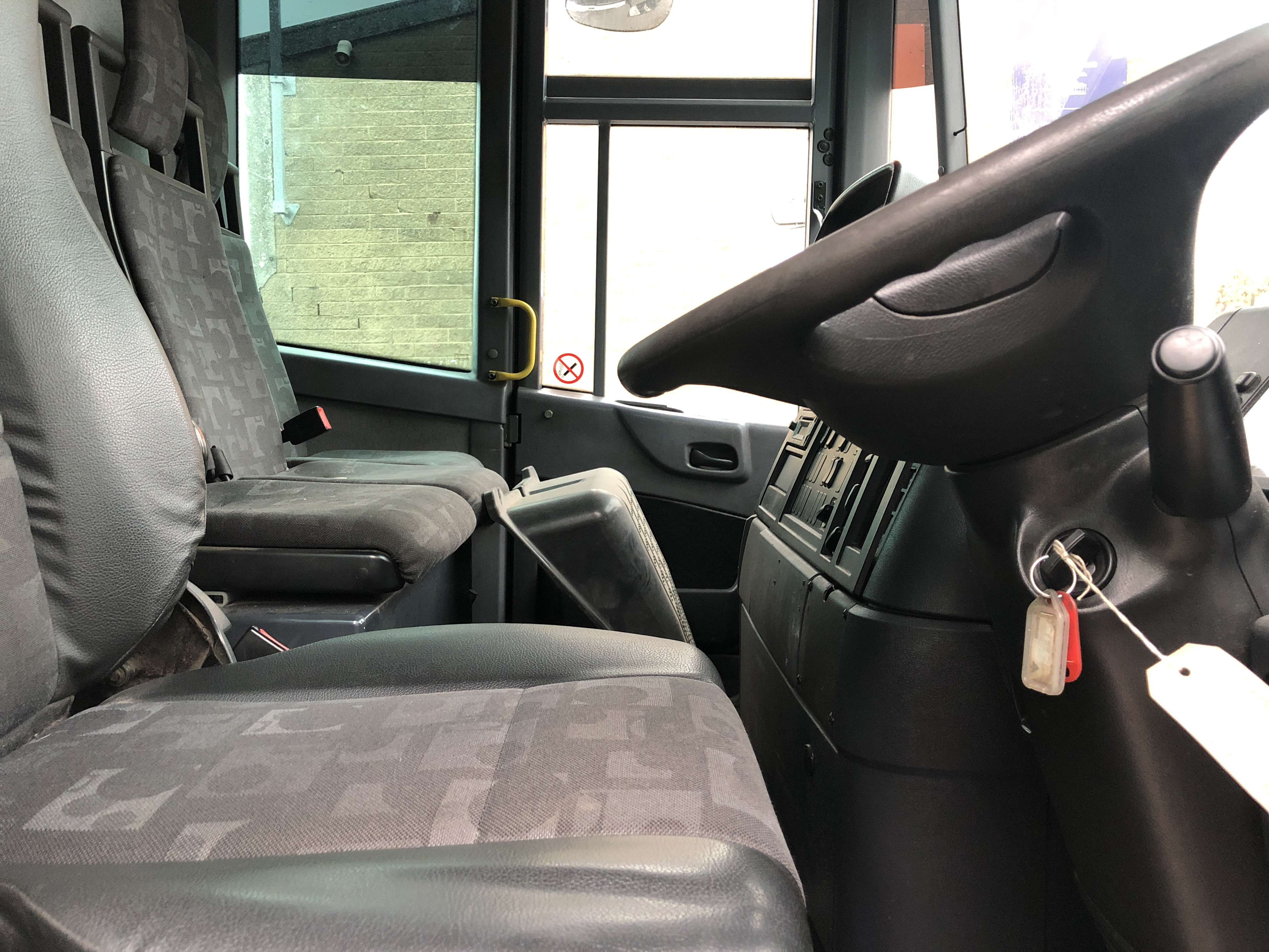 Mercedes Econic 70/30 split body twinpack refuse truck for sale 7